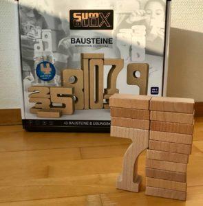 Sumblox - Die Höhe des Turmes zeigt auch immer den Wert